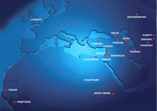 BMED route map