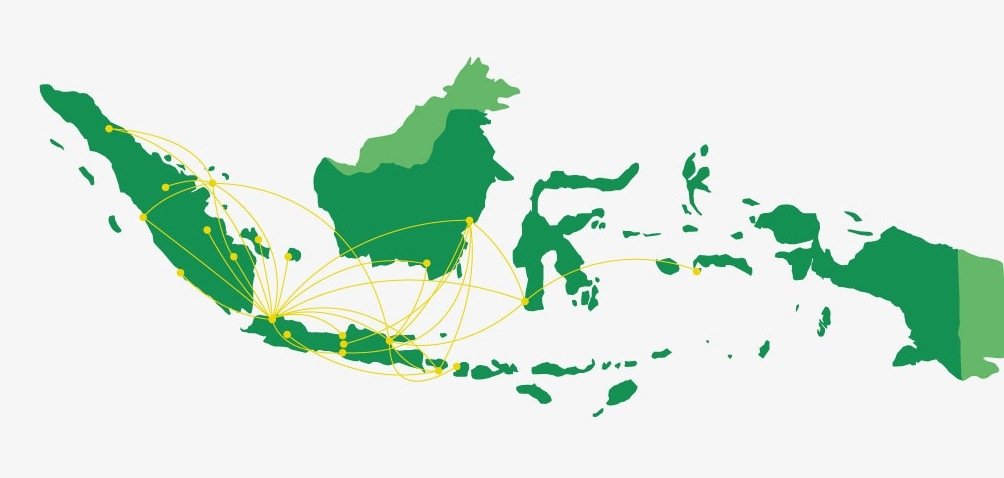 Citilink route map