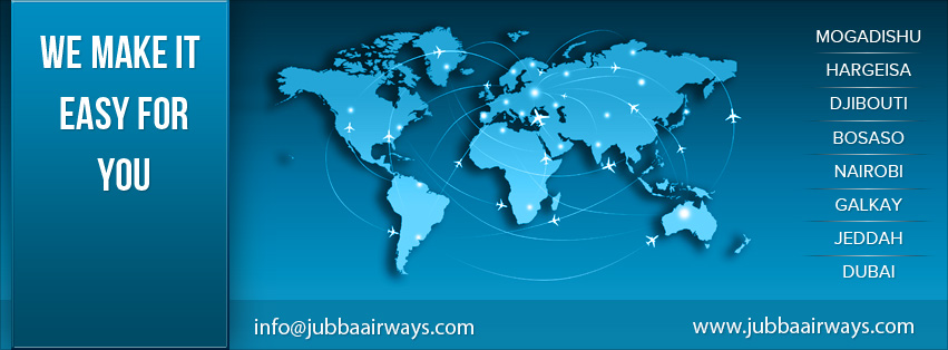 Jubba Airways route map