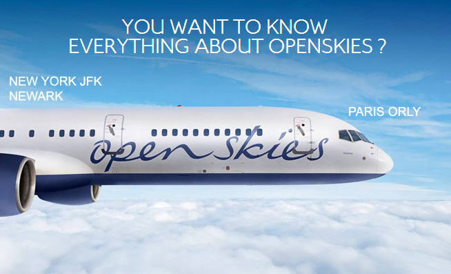 OpenSkies route map