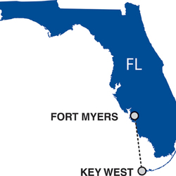 Routes within Florida