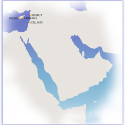 Routes to Middle East