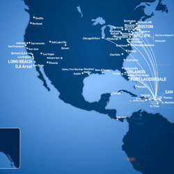 Routes from San Juan