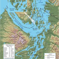 Routes within Washington state