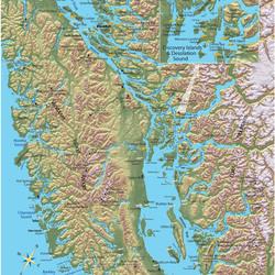 Routes to British Columbia