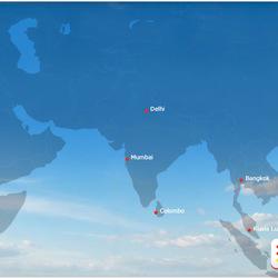 Routes to Asia