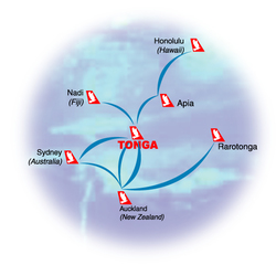International routes