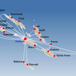 Domestic routes